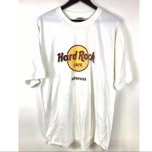 NWT Hard Rock Cafe Memphis Tennessee T Shirt Roll